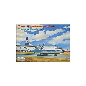 """Ark Models EE14495 - Escala 1:144 """"Antonov An-8 Aviones de Transporte rusos/Aeroflot Modelo de plástico"""