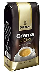 Dallmayr Crema d'Oro mild et haricot Fein dans, 1er Pack (1x Sachet de 1000g)