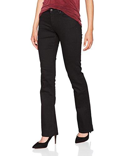 Wrangler Damen Boot-Cut Bootcut Jeans BOOTCUT, Schwarz (Rinsewash 23), W28/L32 - Damen Wrangler
