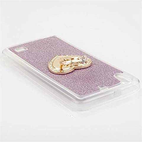 MUTOUREN Huawei Ascend G620s TPU Silicone Case Cover Transparent Ultra Thin Gel High Quality TPU Shock Absorptionbling glitter case