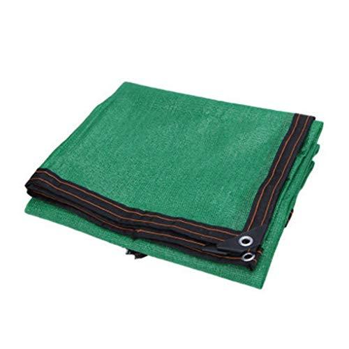 AOHMG Schattiergewebe schattiernetz 80% Sonnensegel Schattentuch gegurtet Rand mit Tüllen, für Kennel Pool Pergola Pool,Green_10x10m/30x30ft