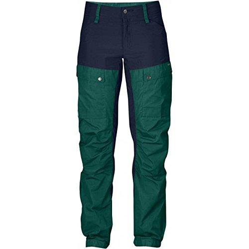 Fjällräven Damen Keb Trousers W Short Lange Hosen, Copper Green, 46