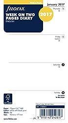 Filofax Einlagen Für Terminplaner 2017, Persönliche Wochenansicht, Liniert, Englischsprachig