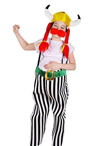 Box Kind Kostüm - Magic Box Int. Kinder Asterix Stil Obelix Kostüm Large (11-13 Years)