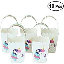 YeahiBaby Bolsos Rainbow Unicorn Candies - Favores de Fiesta para el cumpleaños de la Boda -