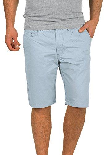 Blend Sasuke Chino Shorts Bermuda Kurze Hose Aus 100% Baumwolle Regular Fit, Größe:M, Farbe:Soft Blue (74641)