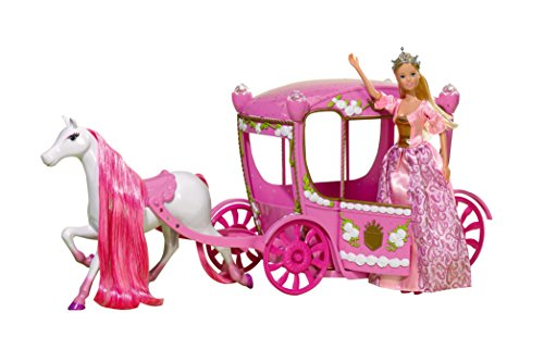 Simba Toys 105739125 - Steffi Love Puppe Fairytale Romantic Carriage