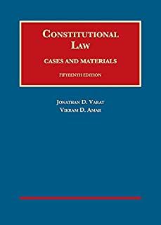 Constitutional Law, Cases and Materials (1634603222) | Amazon price tracker / tracking, Amazon price history charts, Amazon price watches, Amazon price drop alerts