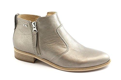Glissière Bottes Beige Latérale Stratifié Nero Chaussures Femme W1qg1S0rP