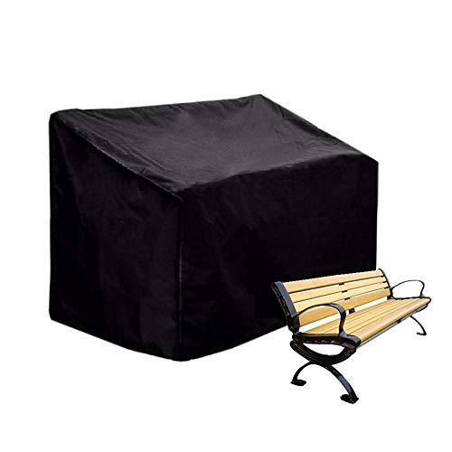 Womdee 4-Sitzer-Abdeckung für Gartenbank, Gartenbank, Sofa und Terrassemöbel (190 x 66 x 89 cm)