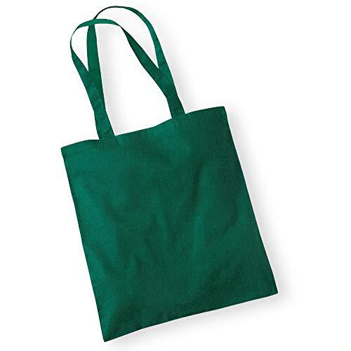 Westford Mill - Baumwolltasche One Size,Bottle Green