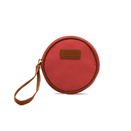 Zaini donna/Piccolo pacchetto rotondo/Carina portamonete/Key/Mini portamonete-E