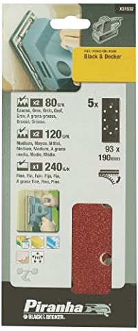 Piranha Third Sheet Punched Quick Fit - Set of 5