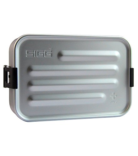 Sigg 8539 Metal Box Plus S Alu, S, Grau (Für Aluminium-lunch-boxen Kinder)