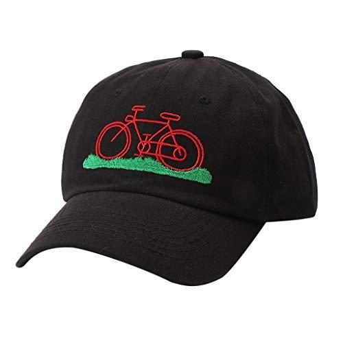 Wild Gymnasiast Hut StudentenmüTze Mann Frau Sommer Fahrrad MüTze Kappe Retro Vintage Rennrad RadlermüTze Wanderhut Capbuchstaben Sport HüTe Outdoor Casual Cap Fahrrad Helm