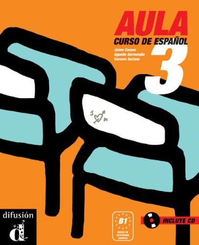 Aula 3. Libro del alumno + CD (Spanish Edition) by Jaime Corpas (2006-01-02)