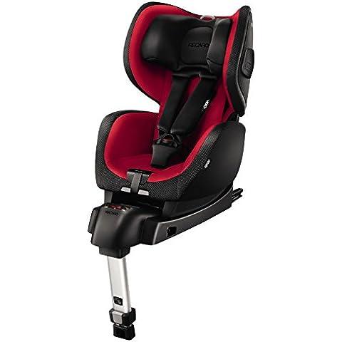 RECARO Optiafix - Silla de coche, color rojo