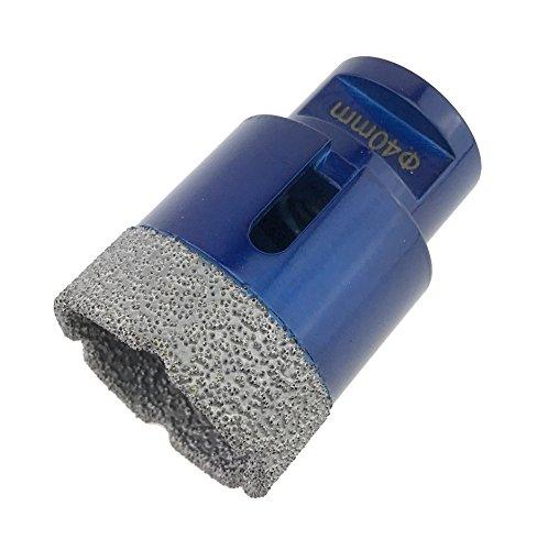 PRODIAMANT Premium Diamant-Bohrkrone Fliese/Feinsteinzeug 40 mm x M14 PDX955.880 40mm passend für Winkelschleifer