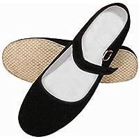 Mujer Artes Marciales Tradicional hecha a mano zapatillas para Kung Fu Zapatos Negro negro Talla:38 EU