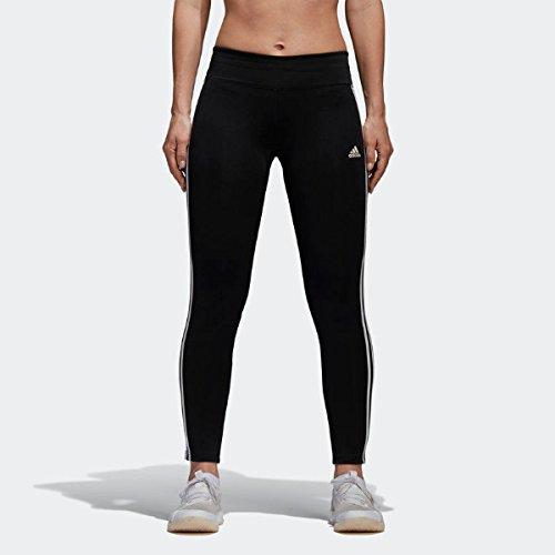 adidas Damen Tights Design 2 Move RR 3-Streifen, Black/White, M, CE2036