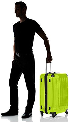 HAUPTSTADTKOFFER - Alex - Hartschalen-Koffer Koffer Trolley Rollkoffer Reisekoffer Erweiterbar, 4 Rollen, 75 cm, 119 Liter, Apfelgrün - 7