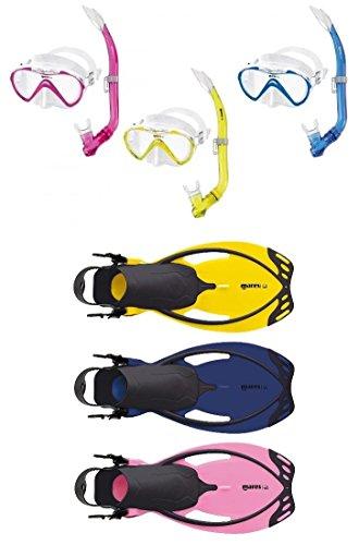Gelb Oder Blau Durchsichtig In Sicht Schnorchel Junior Pink Mares Pirate Kinder Schnorchelset Maske