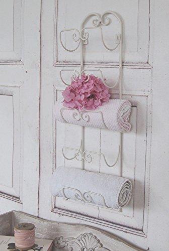 Handtuchständer im traumhaften antique Shabby Chic Landhaus Stil