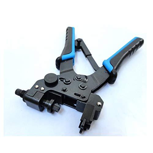 Crimpzangen Crimp-Presswerkzeug für Koaxialkabel RG6, RG59 CATV F, BNC, Cinch-Steckverbinder Crimpzange,Handliche Bauform Catv Crimp