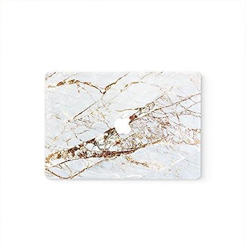 Sticker MacBook Pro 13en marbre Air avant pour la peau (Pro 13