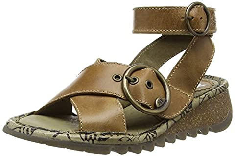 Fly London Tubb, Women's Sandals, Camel, 9 UK (42 EU)