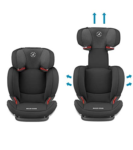Maxi-Cosi RodiFix AirProtect Child Car Seat, Isofix Booster Seat, Black, 15-36 kg Maxi-Cosi Booster car seat for children from 15-36 kg (3.5 to 12 years) Grows along with your child thanks to the easy headrest and backrest adjustment from the top Patented air protect technology for extra protection of child's head 3