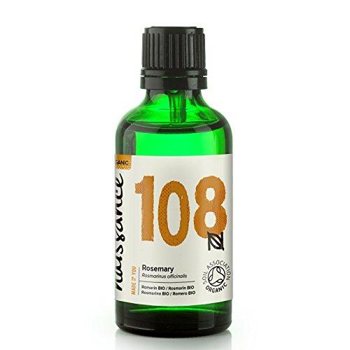 Naissance Olio di Rosmarino Biologico - Olio Essenziale Puro al 100% - 50ml