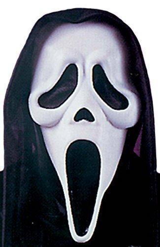 Scream MaskeGespenstergesicht Halloween Kostüm Zubehör für Damen (Offizielle Scream Kostüme)
