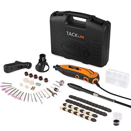 Tacklife RTD35ACL Strumento Multifunzione,Utensile Rotante con 83 Accessori, Mini Drill con Velocita'...
