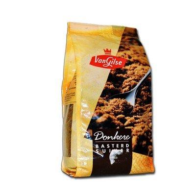 van Gilse Bruine Baster-Suiker - Dunkler Rohr Zucker 0,6 Kg