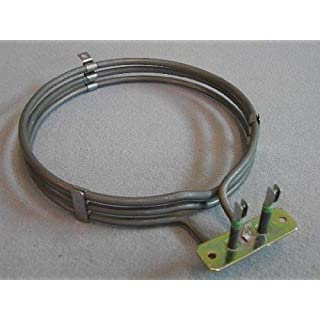 Fan Oven Element: Zanussi Manufactured by EGO Alno, Baumatic, Belling, Blanco, Brittannia, Ego, Elektro Helios, Falcon, Flavel Leisure, King, Leisure, Matura, Moffat, Powerpoint, Privileg, Rangemaster, Tricity Bendix, Catering Parts, Zanker, Zanussi