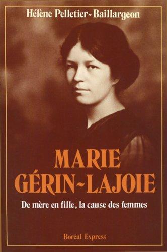 Marie Gerin-Lajoie