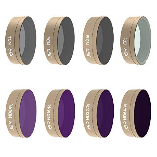 Xingsiyue CPL+ND4+ND8+ND16+ND8/PL+ND16/PL+ND32/PL+ ND64/PL Objektiv Filter für DJI Osmo Action - Multi Beschichtet Optisch Glas Schutz Filter Zubehör
