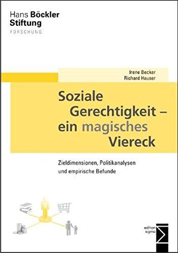 Soziale Gerechtigkeit - ein magisches Viereck: Zieldimensionen, Politikanalysen und empirische Befunde