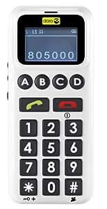 Doro Handle Easy 326 GSM SIM Free Big Button Mobile Phone - White & Grey