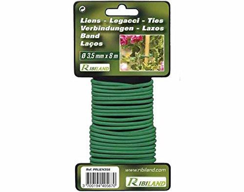 Ribiland 04669 Lien pour Végétaux Vert 8 m Diamètre 3,5 mm