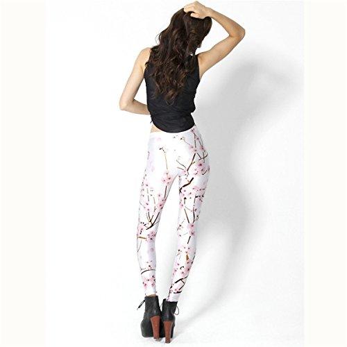 Hoyou Damen Leggings mehrfarbig mehrfarbig White Cherry