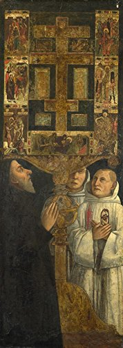 Kardinäle Home-office (Das Museum Outlet-Gentile Bellini-Kardinal Bessarion mit der Bessarion RELIQUARY-Poster Print Online kaufen (101,6x 127cm))