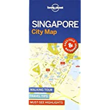 Lonely Planet Singapore City Map (Travel Guide)