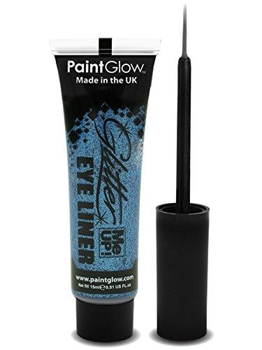 PaintGlow Glitter Eyeliner with Applicator Blue 15ml