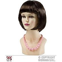 Ingenioso Perlas - Cadena en color rosa En Estilo el Años 50 hasta Años 70 Años