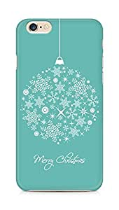 Amez designer printed 3d premium high quality back case cover for Apple iPhone 6s (Merry Christmas)