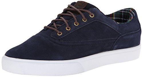 Chaussure Osiris Caswell Vlc Bleu Fonce-Brun-Blanc navy/brown/white