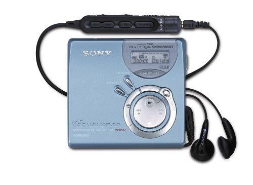 Sony MZ-N 520 L Tragbarer MiniDisc-Rekorder blau