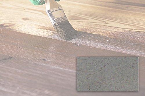BEKATEQ LS-236 Dickschichtlasur Dauerschutzlasur Deckende Holzlasur Holzschutzlasur (5L Silbergrau)